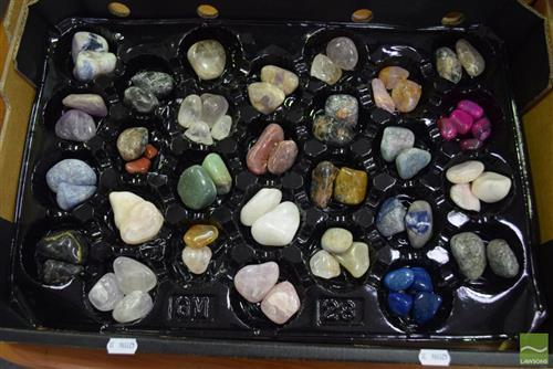 Box Polished Rocks & Gems