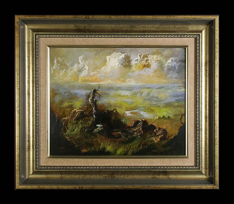 Carl Stringfellow - Landscape 29 x 36cm