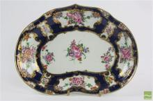 Dr Wall Worcester 18th Century Kidney Shaped Dish