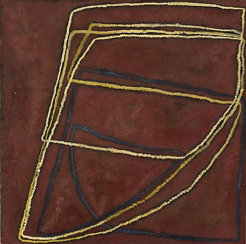 ILDIKO KOVACS (1962-,) - M's House 2003 60.0 x 60.0 cm