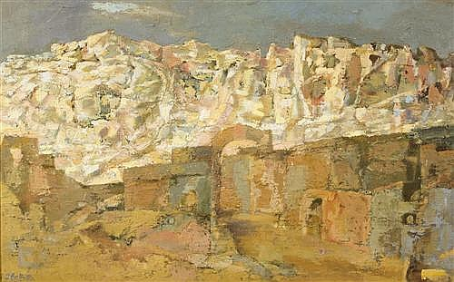 JEAN MARY BELLETTE (1908-1991) - White Mountain 60.5 x 97.0 cm