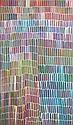 Jeannie Mills Pwerl (1965 - ) - Desert Yam 150 x 90cm, Jeannie Mills Pwerle, Click for value