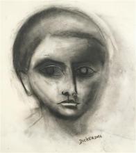 Robert Dickerson (1924 - 2015) - The Boy 75.5 x 54.5cm