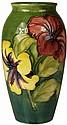 Moorcroft Hibiscus Vase
