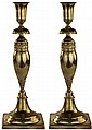 Pair of 19th Century Berlin Silver Candlesticks