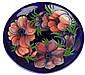Moorcroft Anemone Plate