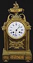 French Ormolu Table Clock