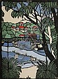 MARGARET PRESTON (1875-1963) - Mosman Bridge c1927 25.0 x 18.5 cm, Margaret Preston, Click for value