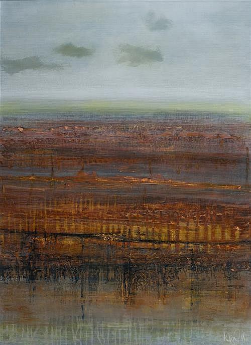 JOANNA LOGUE (born 1964) - Desertscape III 1996 96.5 x 69.5 cm