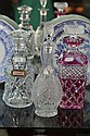 Three Crystal Decanters