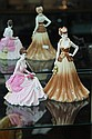 Coalport Ladies of Fashion Yvonne & Collectors Choice 312/500