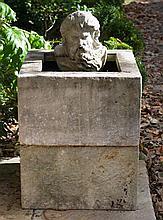 A Stoneware Fountain, prov. Parterre Garden Woollahra, 102 x 63 x 63cm