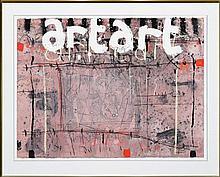 Basil Hadley (1940 - 2006) - Art Art 56 x 75cm