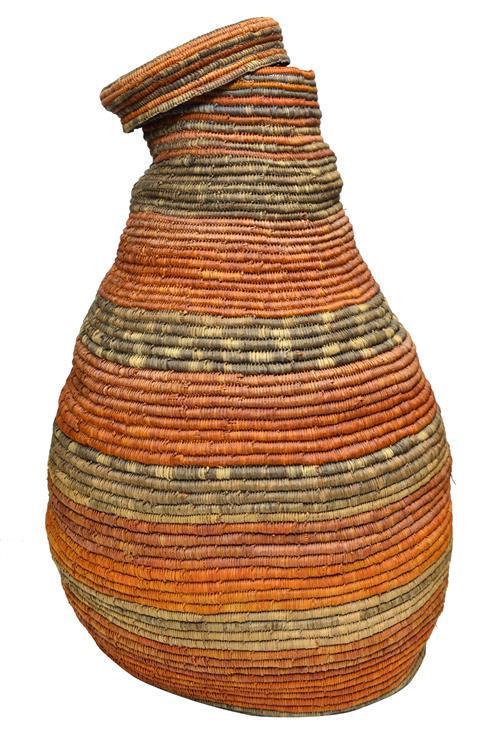 Robyn Djunginy (1947 - ) - Coli Basket h. 77, w. 42cm