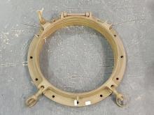 Lot 1024: Large Brass Porthole