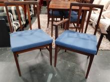 Lot 1036: Superb Younger Teak Extention Table and 6 Chairs