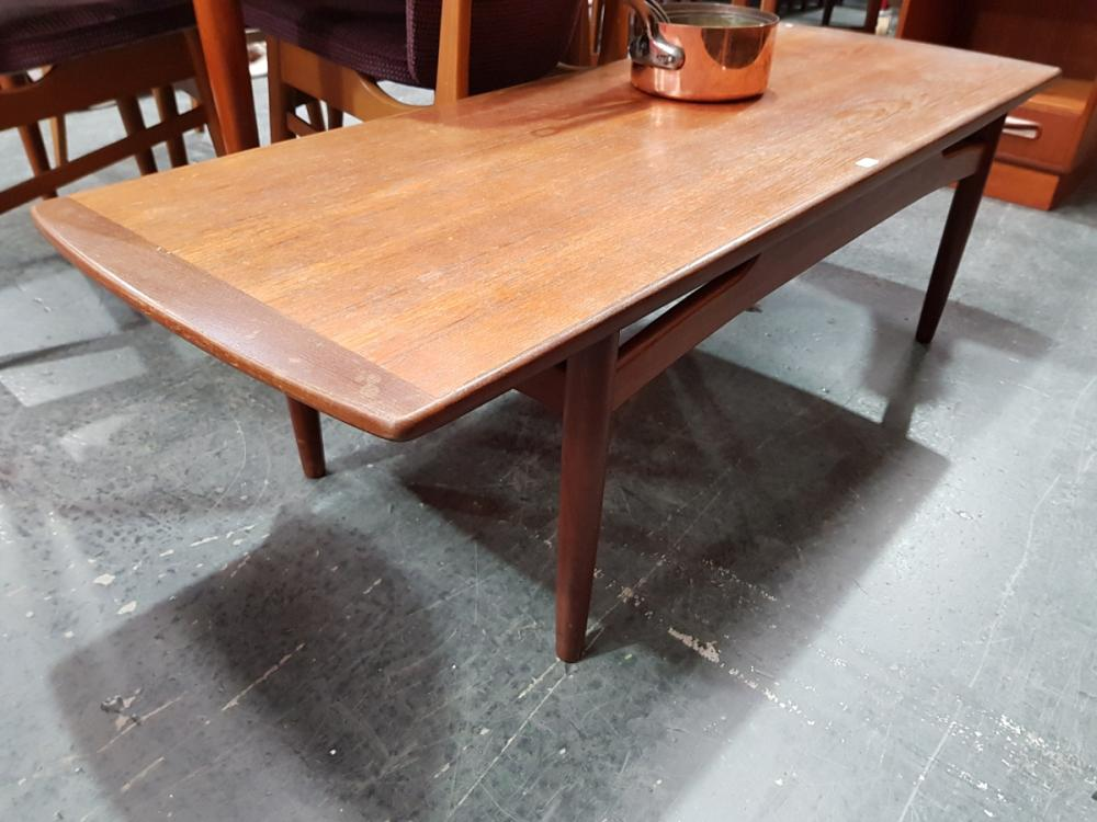 G Plan Teak Long John Coffee Table