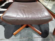Lot 1055: Tessa Swivel Armchair and Footstool