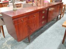 Lot 1083: Vintage Sideboard with 3 Doors and 3 Drawers