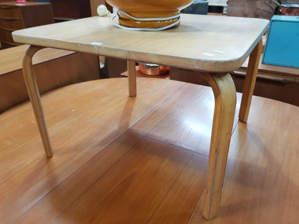 Lot 1121: Alva Alto Danish Beech Side Table