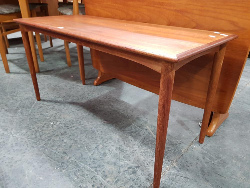 Lot 1123: Teak Coffee Table
