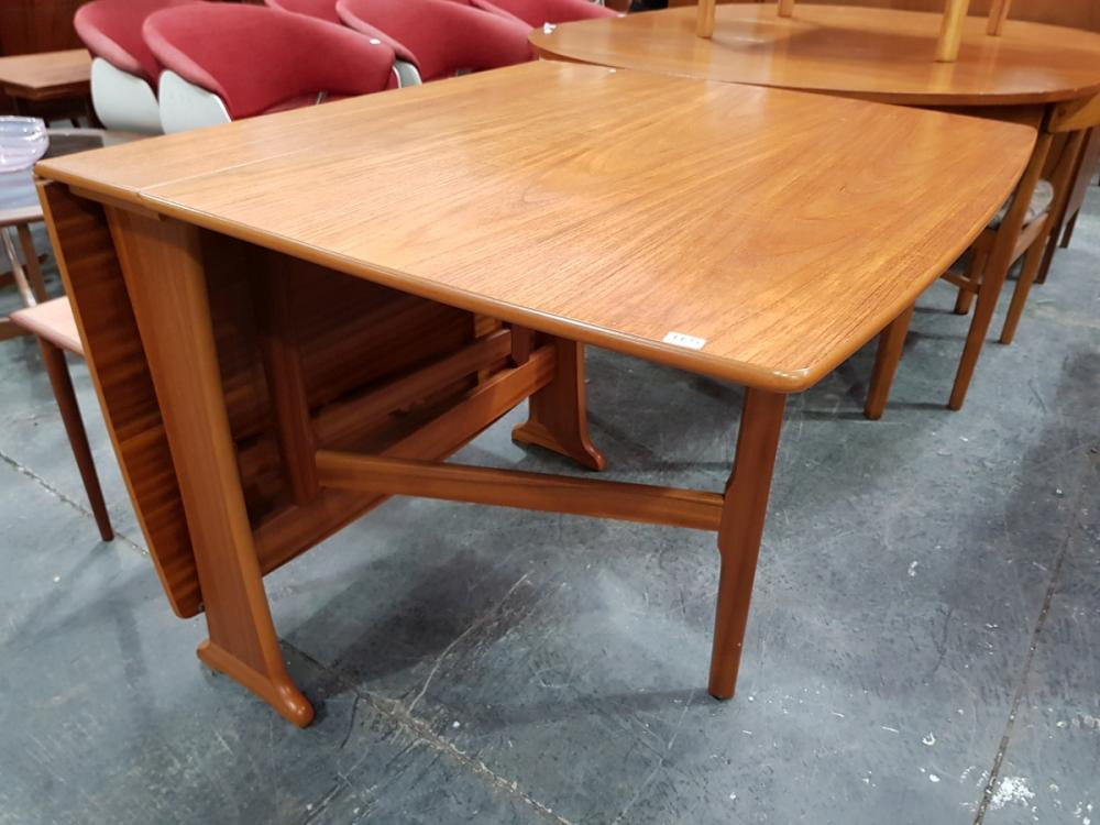 Quality Legate Teak Drop Leaf Table