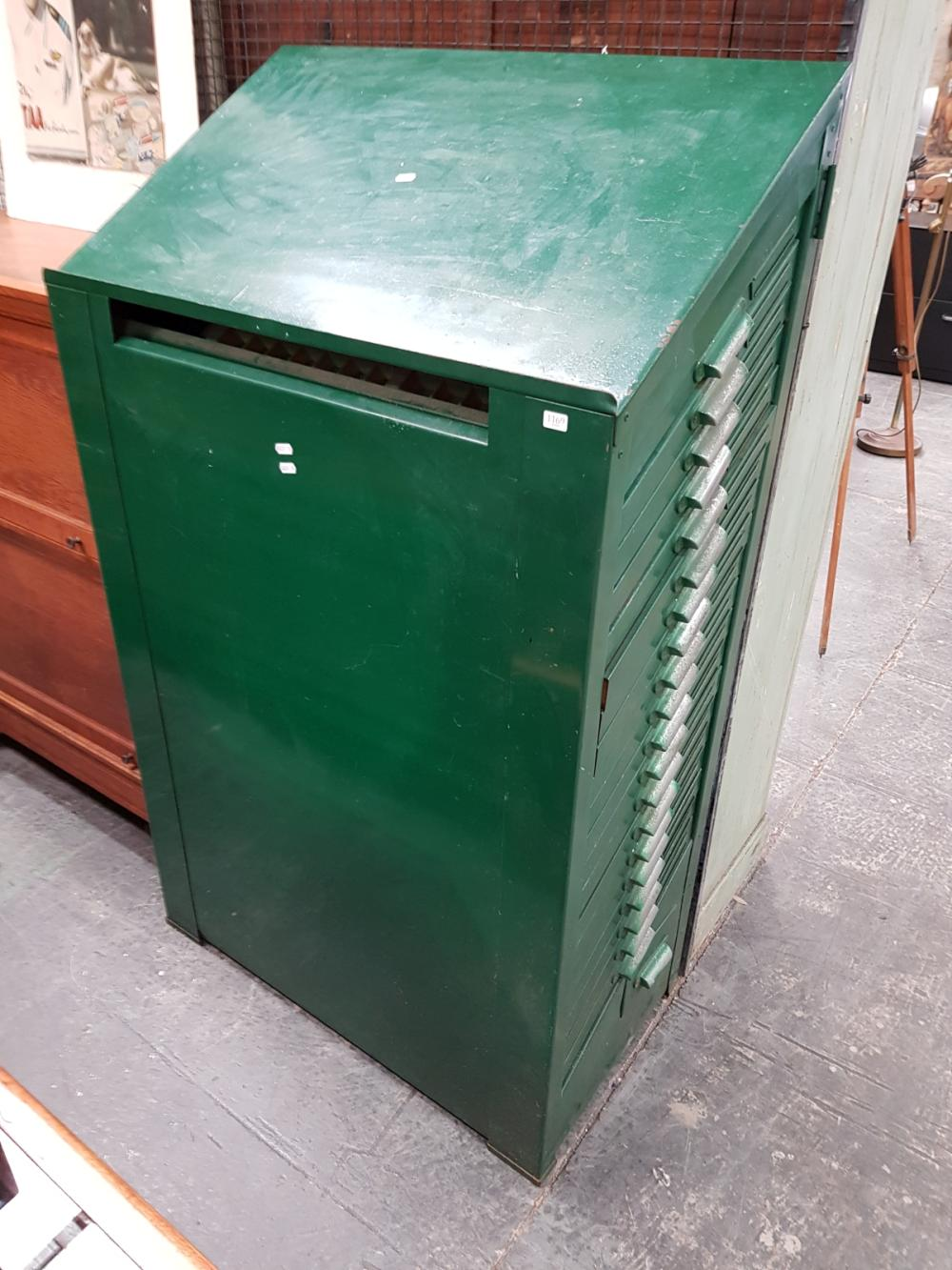 Typesetter's 20 Drawer Cabinet