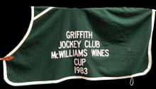 Lot 1170: Griffith McWilliams Wines Horse Coat, 1983
