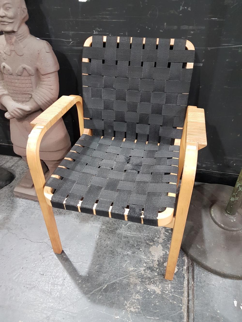 Alvar AAlto Webbed Chair