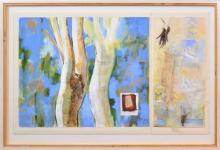 Anneke Silver (1937 - ) - Memories of Winter, 1994 106 x 170cm