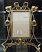 Art Nouveau Brass Floral Frame by DRGM