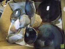 9 Polished Agate Examples