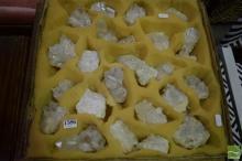 Box Quartz Crystal Pieces