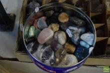 Tin of Polished Geology Pieces