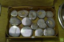 Box Quartz /Agate Polished Geodes
