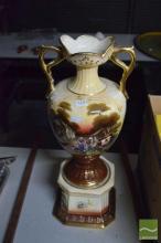 Hand Painted English Urn