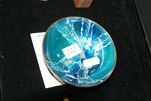 Mary Raymond Enamel Bowl