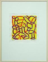 David Reid - Congress 40 x 39cm