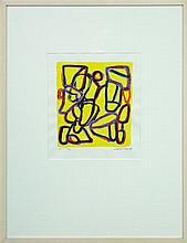 David Reid - Leap Frog 37 x 32cm