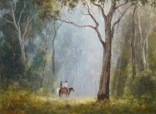 Kevin Best (1932 - 2012) - Enroute 52 x 69.5cm