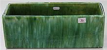 John Campbell Green Glaze Trough, Length - 36cm