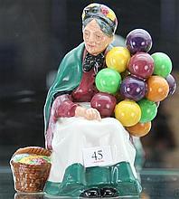 Royal Doulton 'The Old Balloon Seller