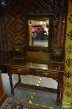 Mirrored Back Dresser
