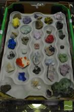 Box of Assorted Mineral & Crystal