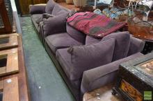 Pair of Upholstered Country Road Lounges