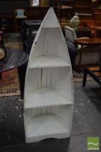 Boat Form Open Shelf