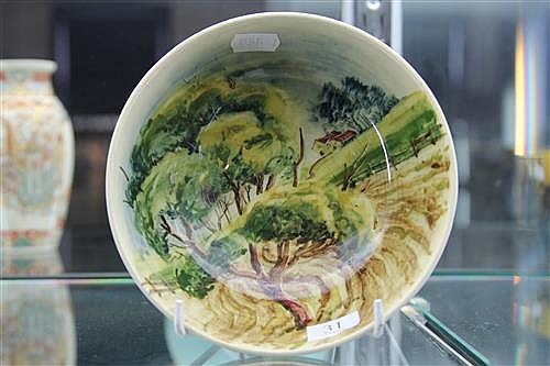 Martin Boyd Hand Painted Bowl