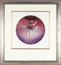 Michael Kempson (1961 - ) - Red Rose, 1998 47 x 47cm