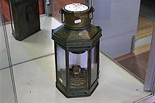 Vintage Ships Lamp
