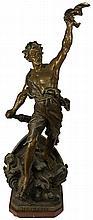 Bronzed Figure